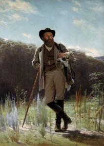 И. Н. Крамской, портрет Шишкина