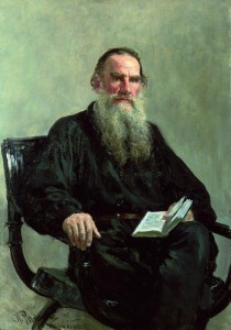 И. Е. Репин, портрет Льва Толстого